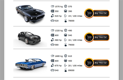 coin racer cars